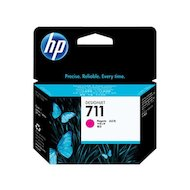 Фото Картридж струйный HP 711 CZ131A пурпурный для HP DJ T120/T520 (29мл)