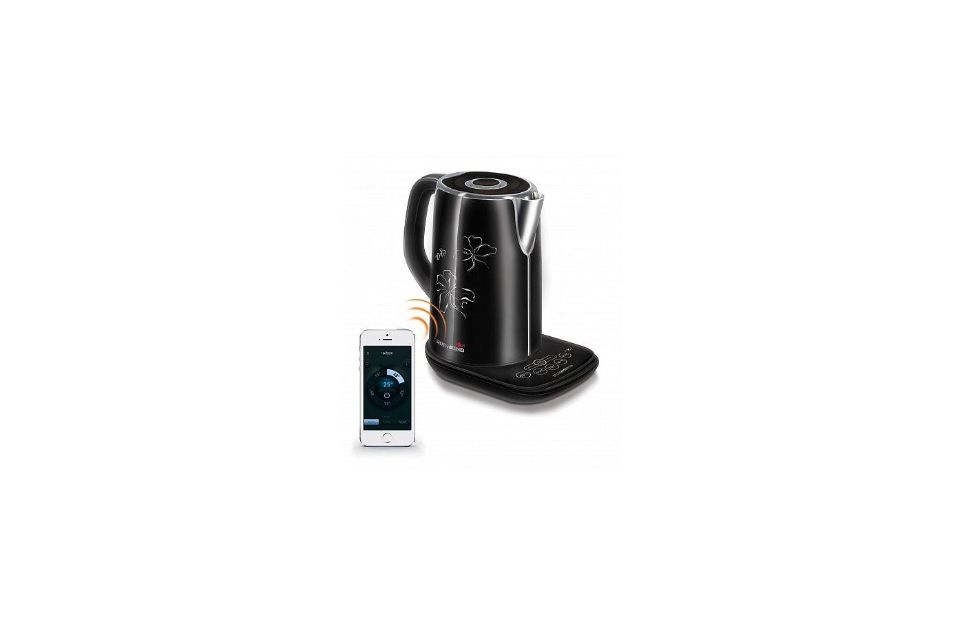 Чайник электрический  REDMOND RK-M170S черный
