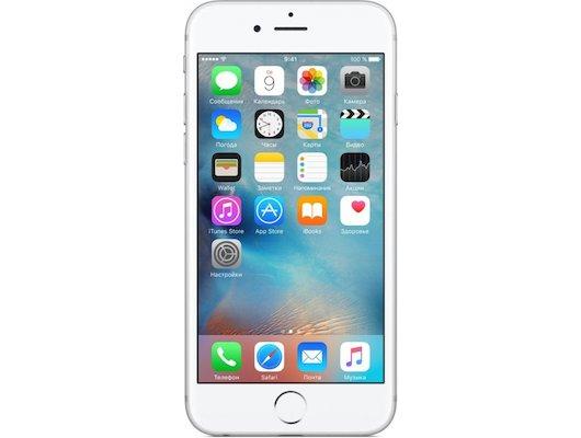 Смартфон Apple iPhone 6S 32GB Silver MN0X2RU/A
