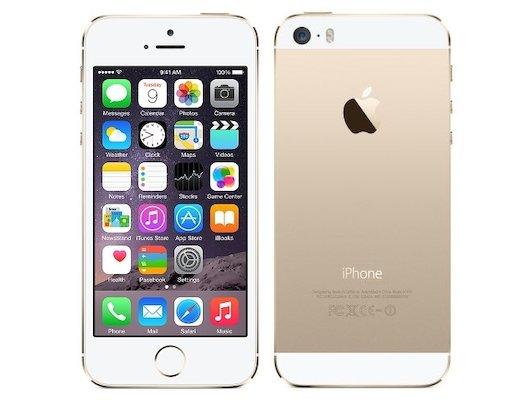 Смартфон Apple iPhone 5s 16Gb gold восстановленный FF354RU/A