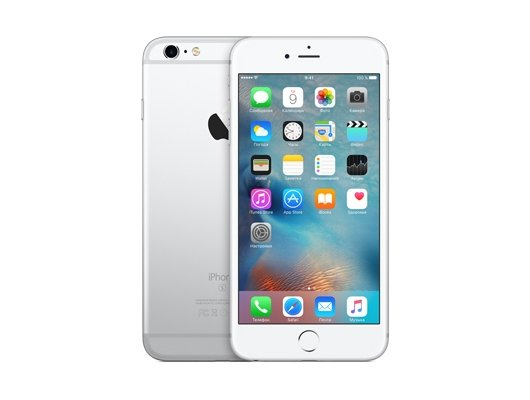 Смартфон Apple iPhone 6S+ 32GB Silver MN2W2RU/A