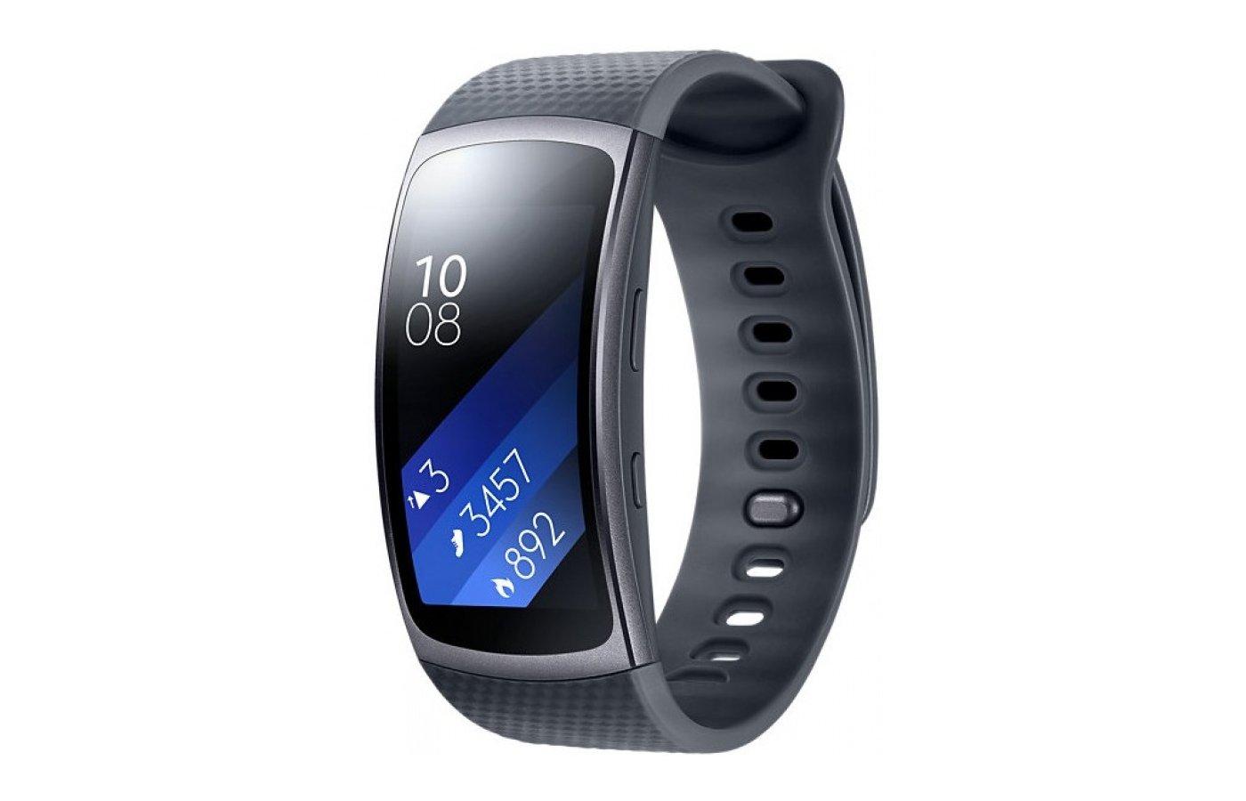 Смарт-браслет Samsung Gear Fit2 (SM-R3600DAASER) gray