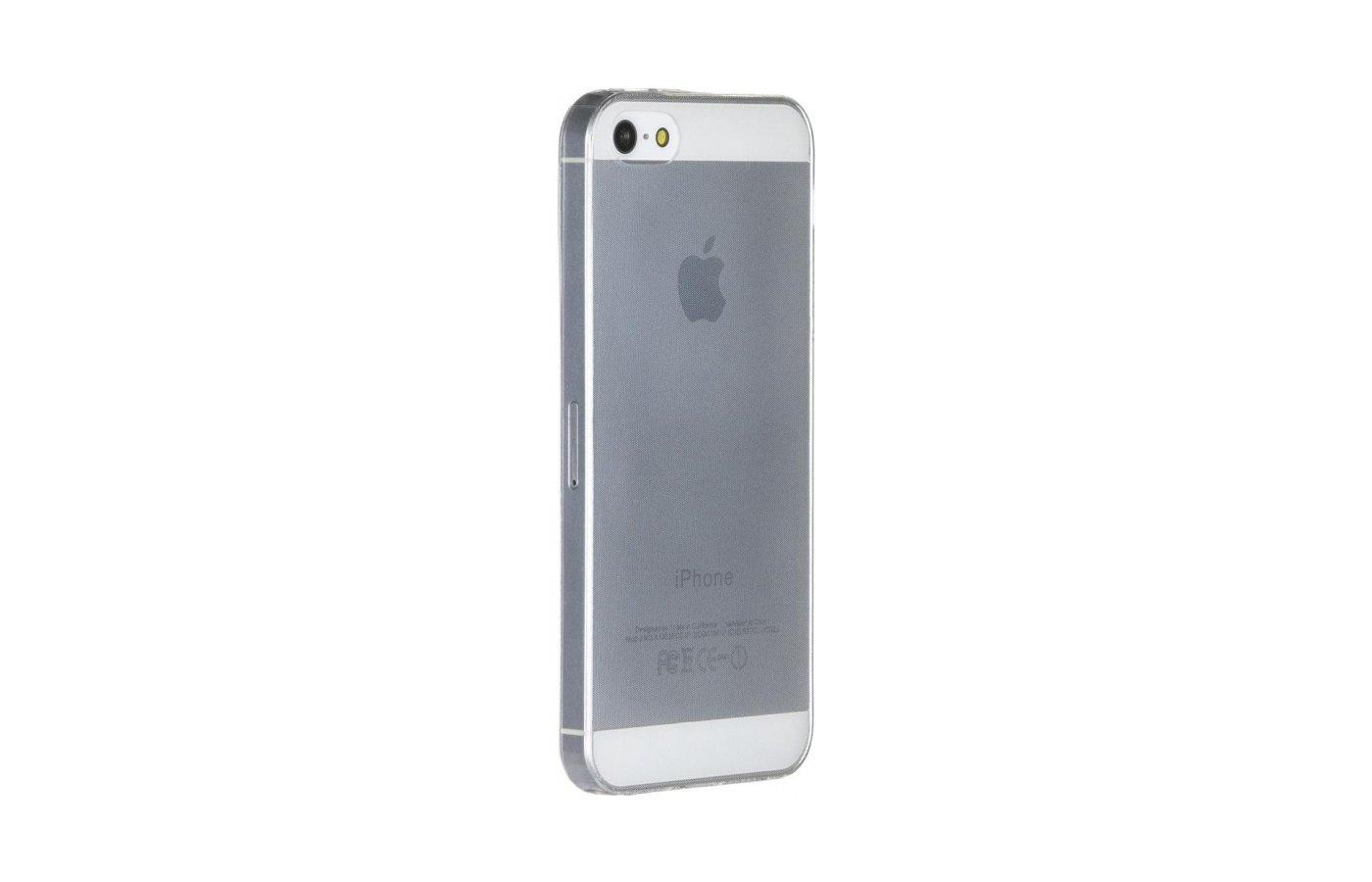 Чехол iBox Crystal для iPhone 5/5S/SE прозрачный