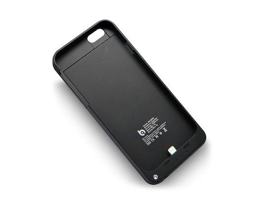 Чехол BQ-B006 3200mAh для iPhone 6/6S (черный)