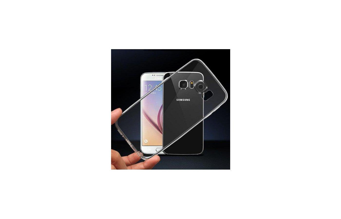 Чехол iBox Crystal для Samsung Galaxy S7 Edge (SM-G935) прозрачный