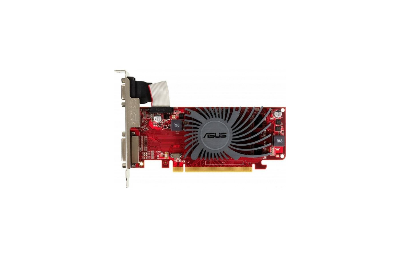 Видеокарта Asus PCI-E HD5450-SL-1GD3-L-V2 AMD Radeon HD 5450 1024Mb 64bit Ret low profile