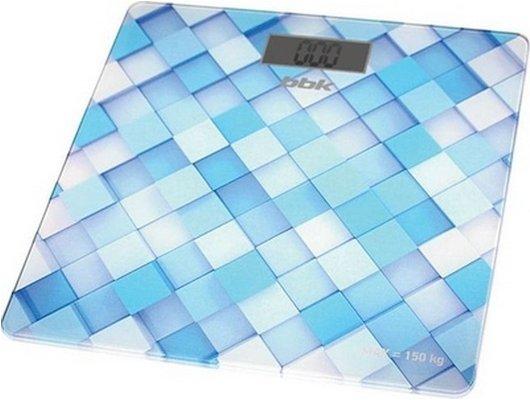 Весы напольные BBK BCS 3001G голубой