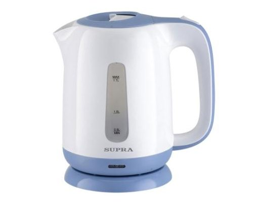 Чайник электрический  SUPRA KES-1724 white/blue