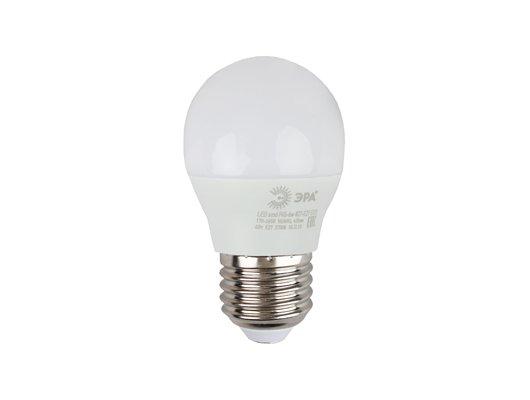 Лампочки LED ЭРА LED smd P45-6w-827-E27