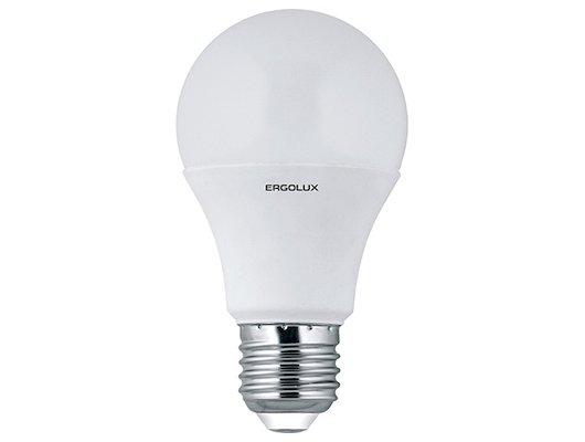 Лампочки LED Ergolux LED-A60-12W-E27-3K (Эл.лампа светодиодная ЛОН 12Вт E27 3000K 172-265В) NEW