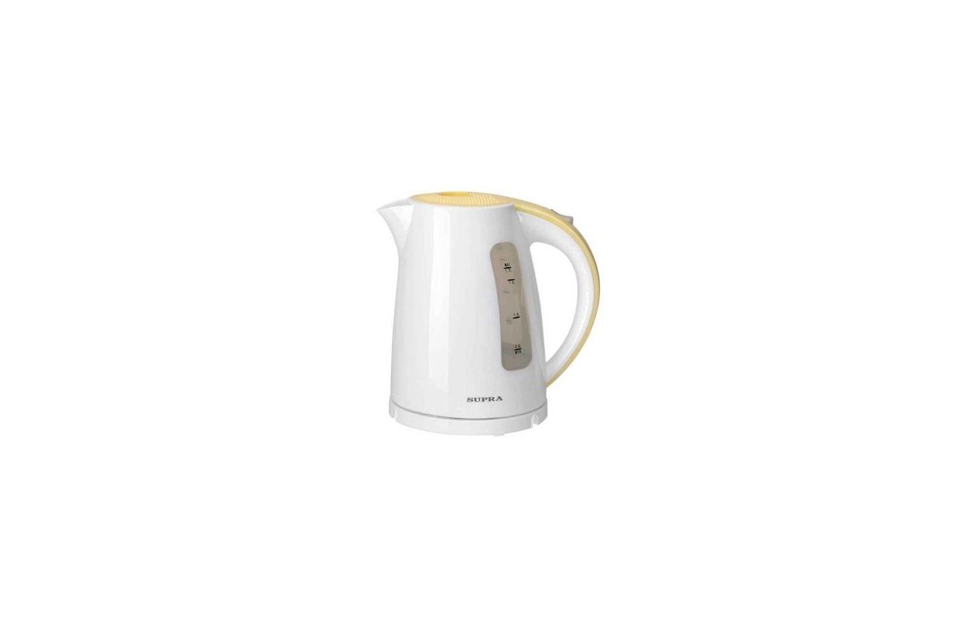 Чайник электрический  SUPRA KES-1726 white/yellow