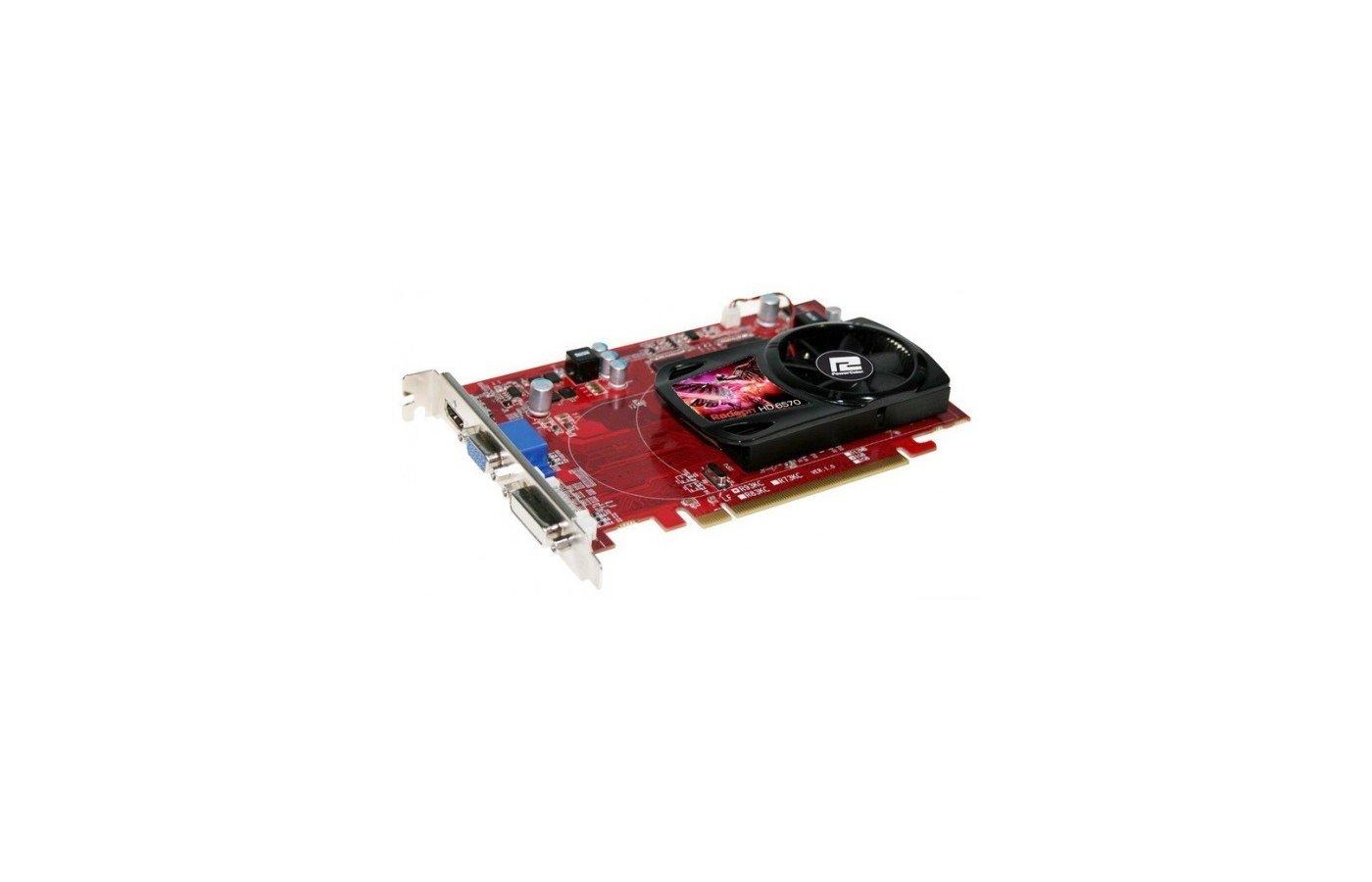Видеокарта PowerColor PCI-E AX6570 1GBD3-HE AMD Radeon HD 6570 1024Mb 128bit oem