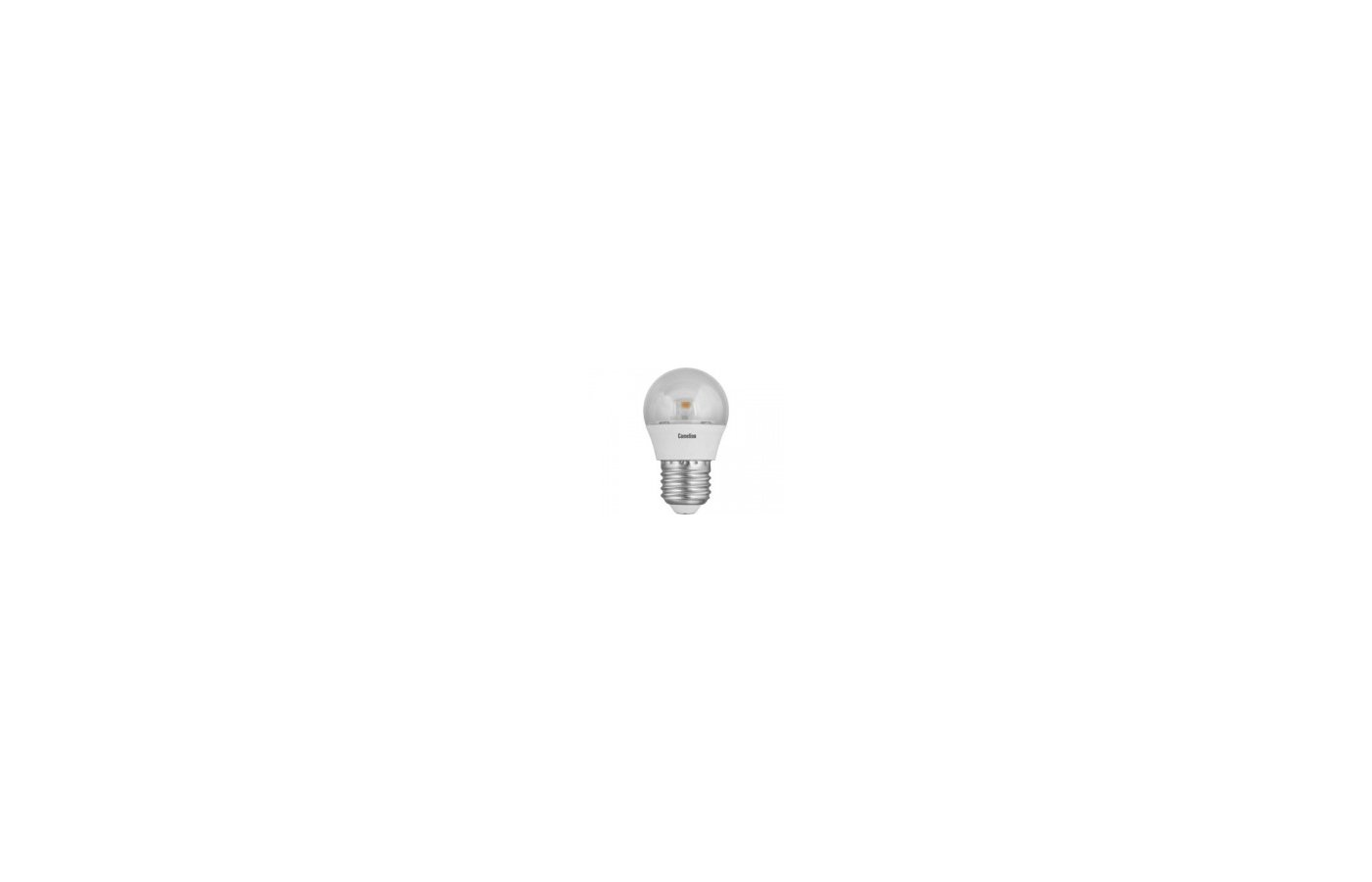 Лампочки LED Camelion LED7.5-G45-CL/830/E27 (Эл.лампа светодиодная 7.5Вт 220В)