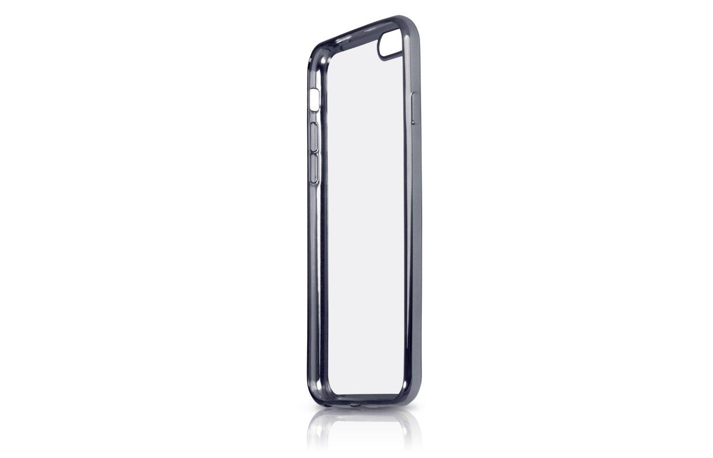 Чехол DF для iPhone 7 (iCase-08) black с рамкой