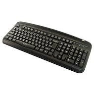 Фото Клавиатура проводная Oklick 300M black (PS/2+USB)+ USB порт