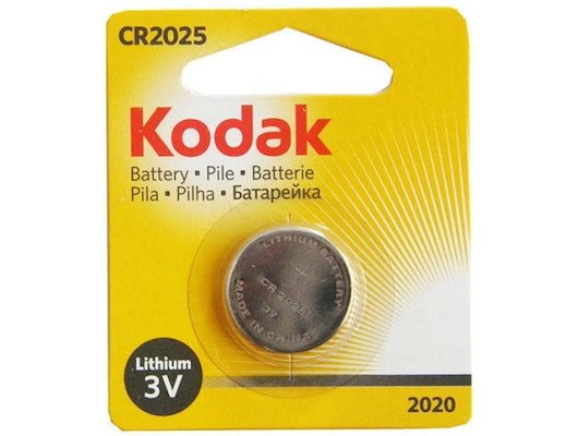 Батарейка Kodak CR2025-1BL 1шт.