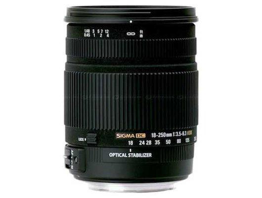 Объектив Sigma AF 18-250mm f/3.5-6.3 DC OS HSM для SONY