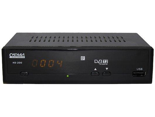DVB-T2 ресивер Сигнал Эфир HD-200