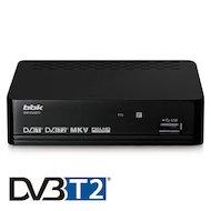 Фото DVB-T2 ресивер BBK SMP124HDT2 dark gray