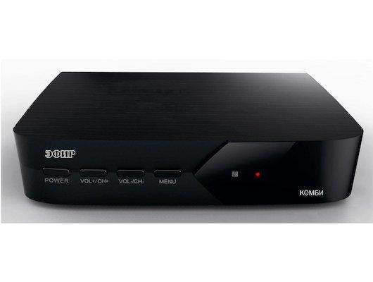 DVB-T2 ресивер Сигнал Эфир Комби 220/12/24V