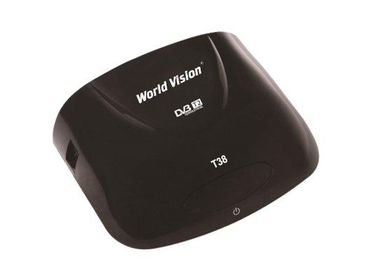 DVB-T2 ресивер World Vision T38