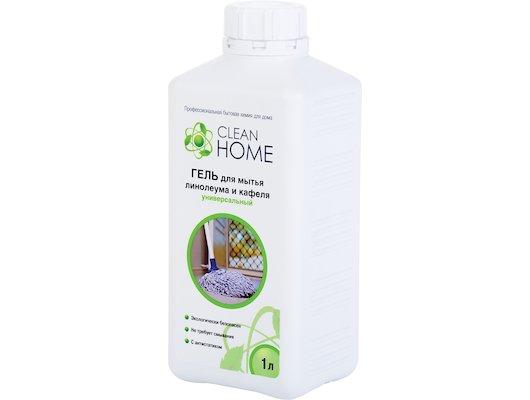 Инвентарь для уборки CleanHome Гель д/мытья линолеума и кафел 1000мл 381