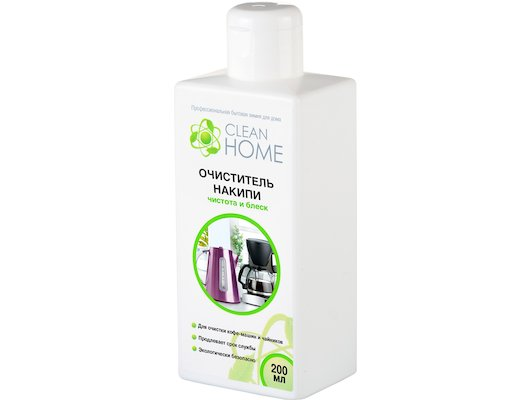 Моющее средство для чайников CleanHome Очиститель накипи чистота и блеск 200мл 444