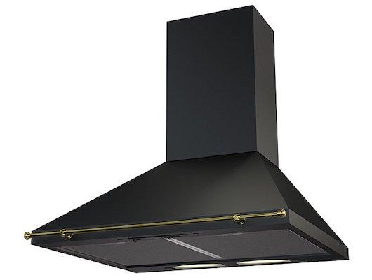 Вытяжка KRONA Victoria 600 black/gold