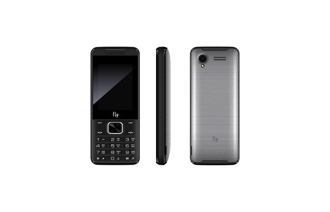 Мобильный телефон Fly FF245 Dark grey