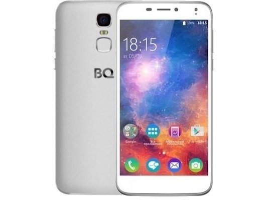 Смартфон BQ BQS-5520 Mercury LTE Silver