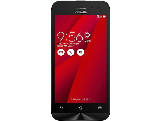 Смартфон ASUS ZB450KL Zenfone Go 8Gb red