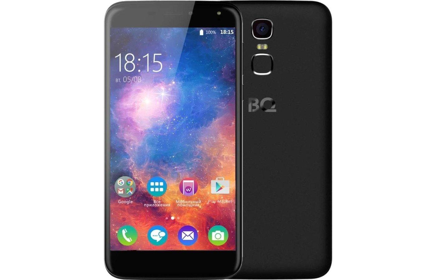 Смартфон BQ BQS-5520 Mercury LTE Black