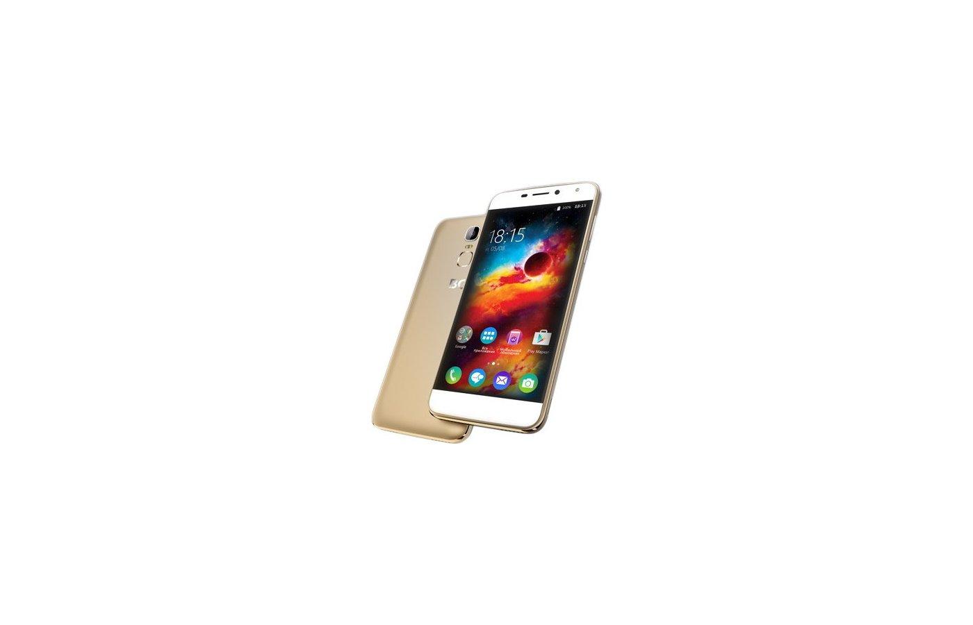 Смартфон BQ BQS-5520 Mercury LTE Gold