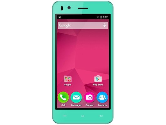 Смартфон Micromax Q424 BOLT Green