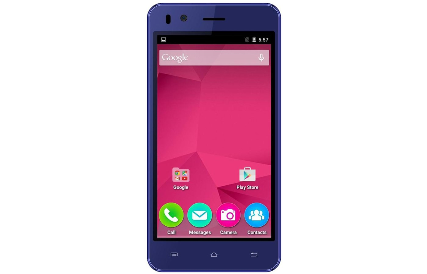 Смартфон Micromax Q424 BOLT Blue