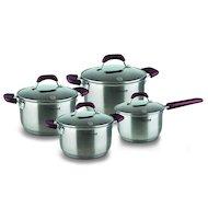 Набор посуды  Rondell RDS-824 Bojole 8 предм (кастрюли 18/20/24ковш 16 + крышки)