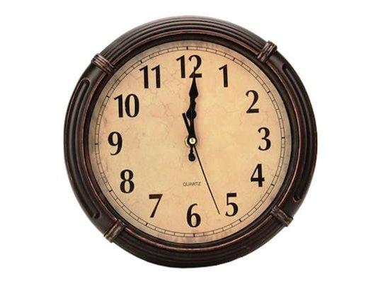Часы настенные 581-494 Часы настенные Валенсия 25х25см пластик 1xAA