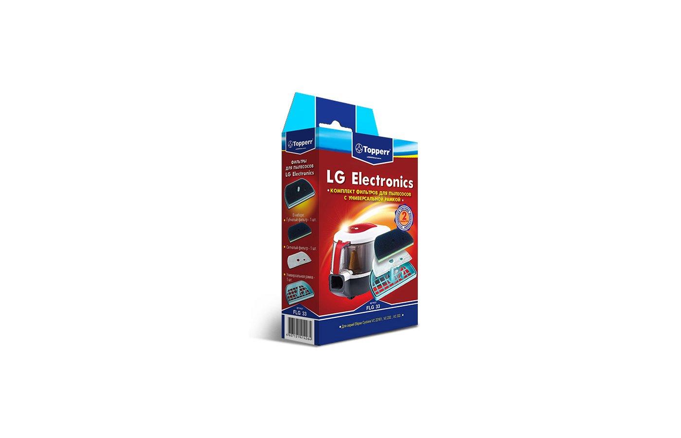 Фильтр для пылесоса TOPPERR 1152 FLG 33 Комплект