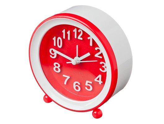Будильник 529-082 Будильник электронный, пластик, 11х10,5х4см, 1хАА, 2 цвета