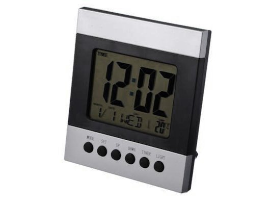 Будильник 581-148 Будильник с термометром 2088B