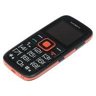 Фото Мобильный телефон TeXet TM-117B черный-оранжевый