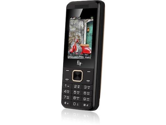 Мобильный телефон Fly FF245 Champagne