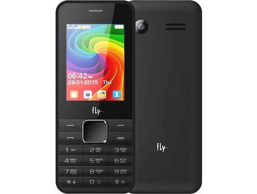 Мобильный телефон Fly FF246 Black