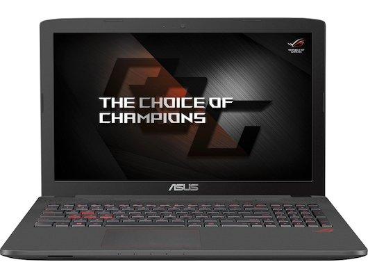 Ноутбук ASUS ROG GL752VW-T4237D /90NB0A42-M03150/