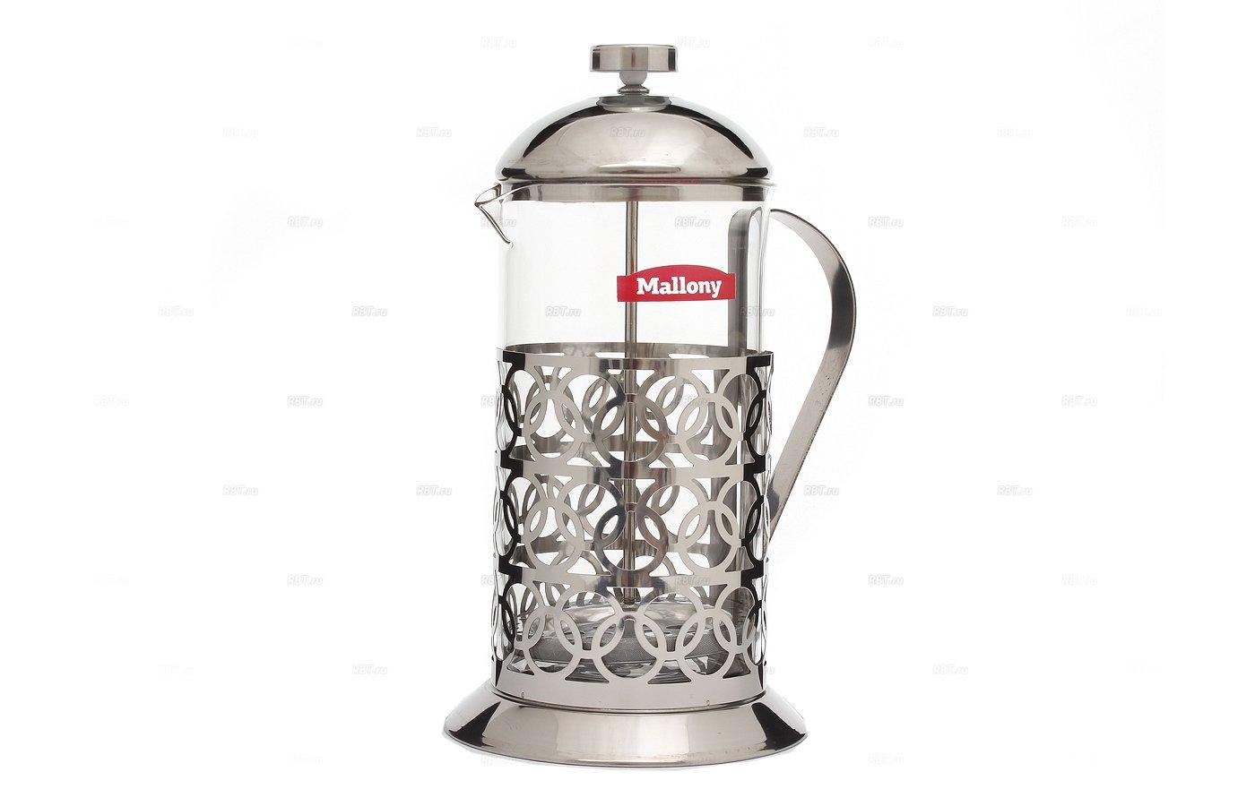 кофейники и турки MALLONY T046-1000ML Френч-Пресс 1000мл 950093