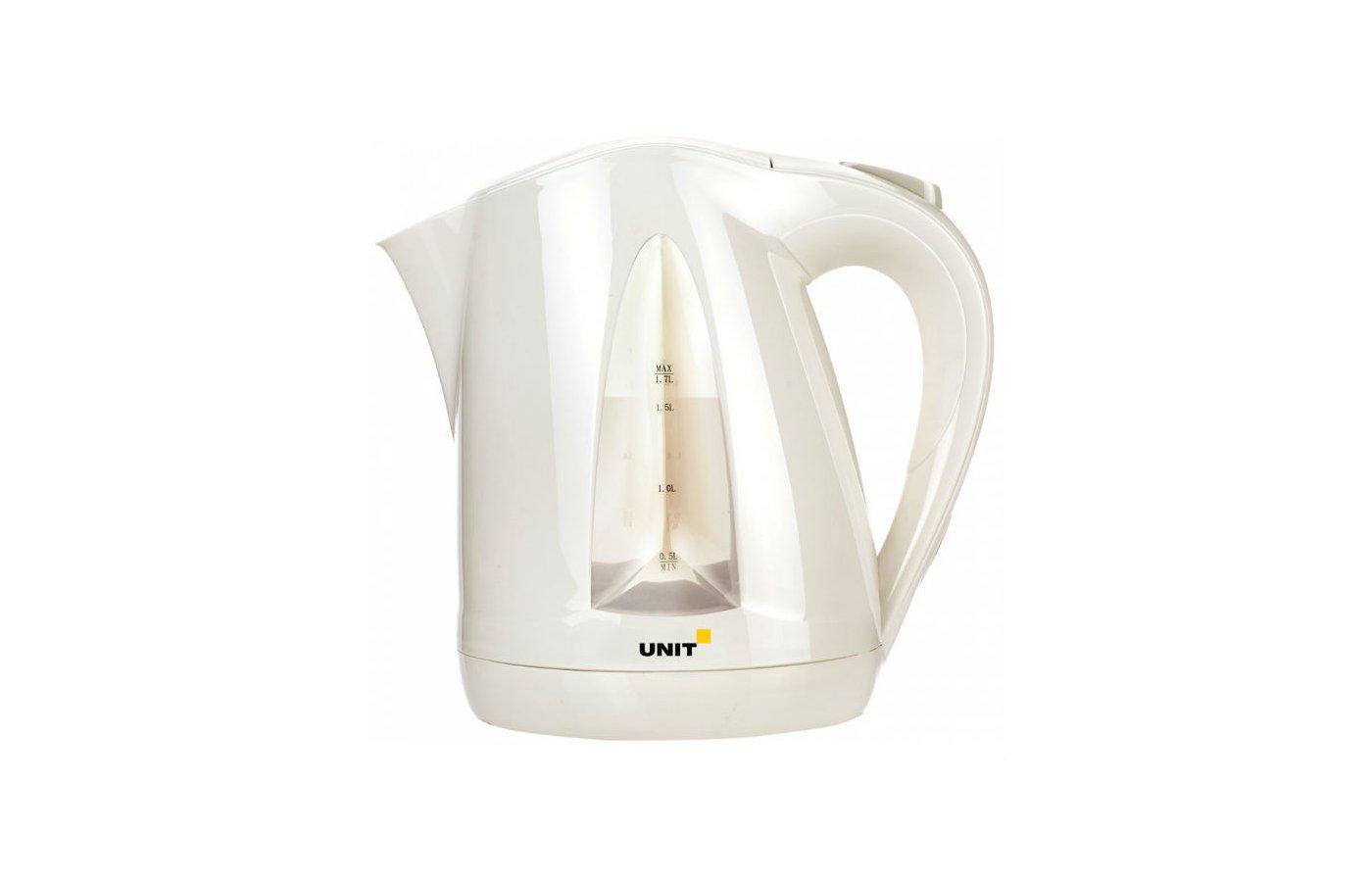 Чайник электрический  UNIT UEK-246 бежевый
