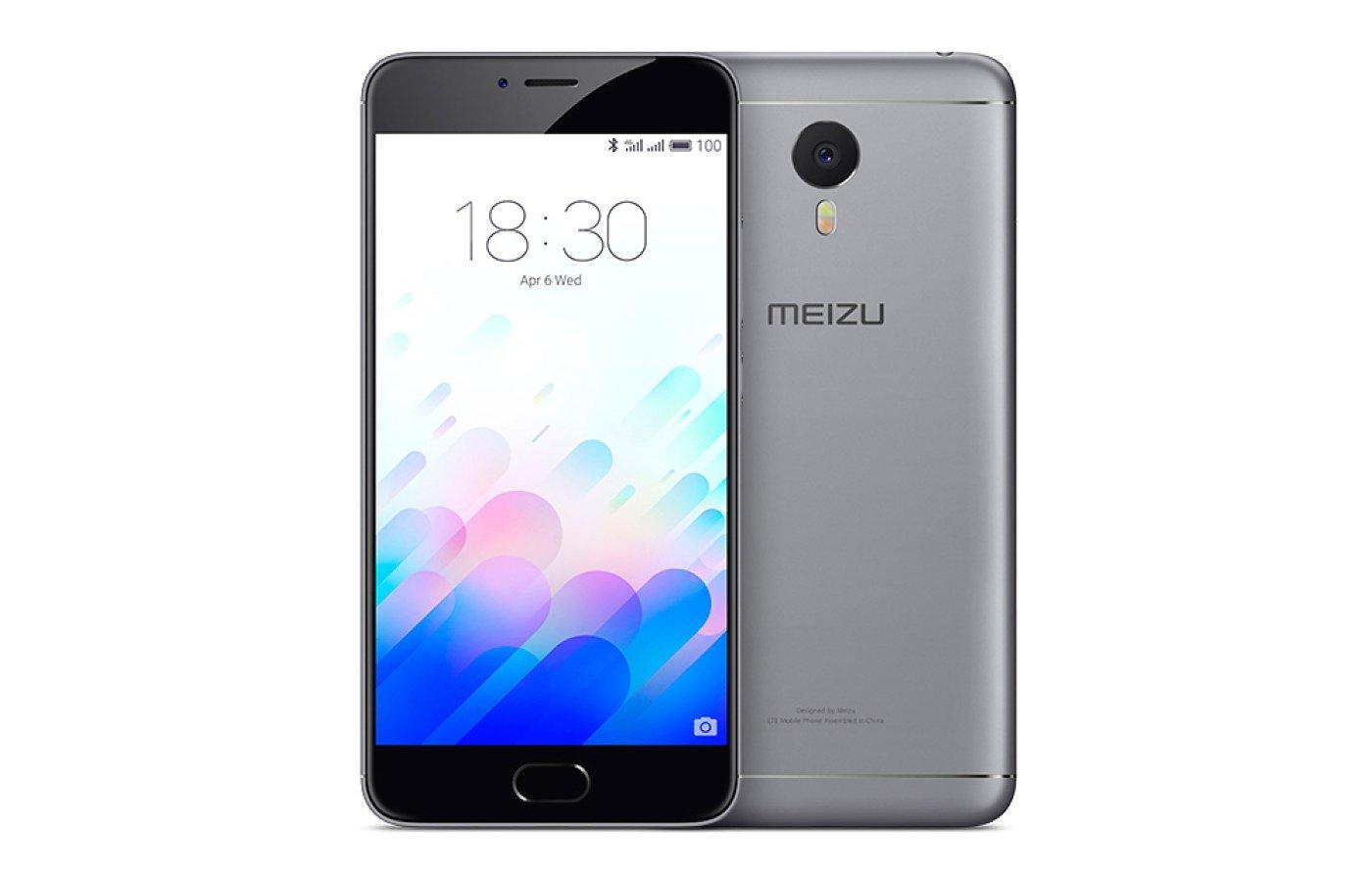 Смартфон Meizu M3 Note 16Gb Gray дубль