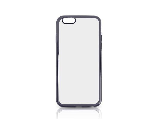 Чехол DF для iPhone 6/6S (iCase-02) space gray с рамкой
