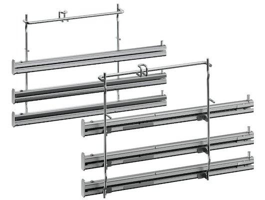 Аксессуары для встройки NEFF Z11TF36X0 Телескопические направляющие, 3 уровня,