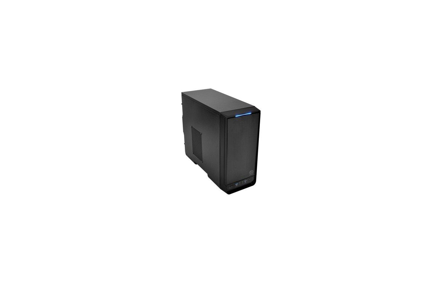 Корпус Thermaltake Urban S1 черный без БП mATX 1x80mm 1x92mm 1x120mm 2xUSB3.0 audio front door